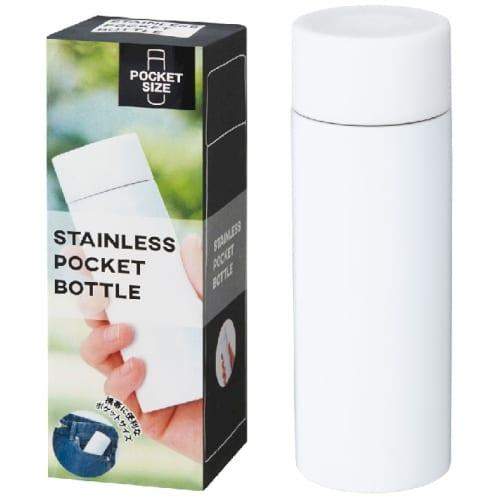 真空ステンレス ポケットボトル(ホワイト)【ミニボトル】の商品画像4枚目