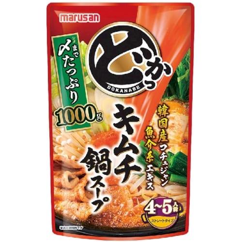 どかっ鍋 キムチ鍋スープ1000gの商品画像2枚目