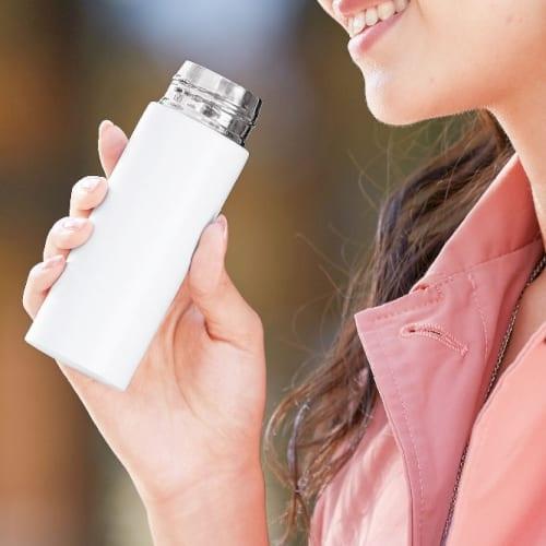 ミニステンレスボトル120ml【ミニボトル】の商品画像2枚目