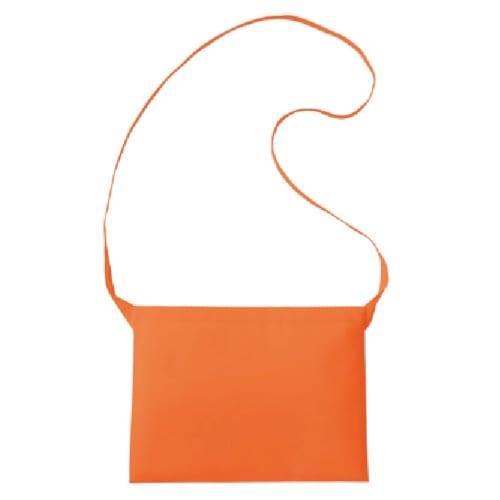 不織布B5サコッシュ:オレンジ