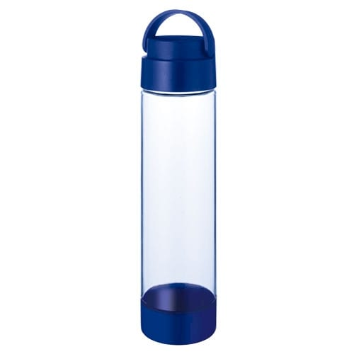 ハンドル付クリアボトル 550ml:ネイビー
