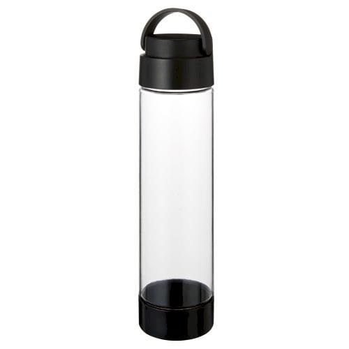 ハンドル付クリアボトル 550ml:ブラック