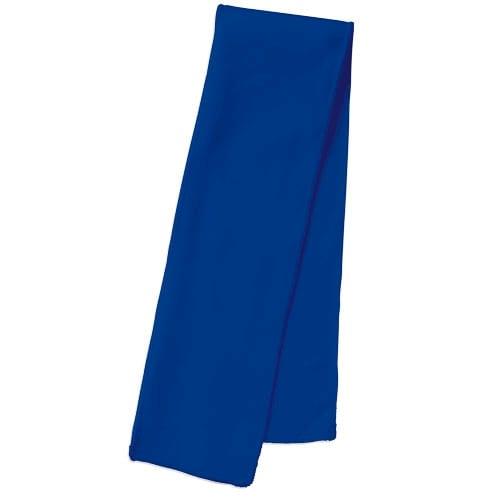 涼感マフラータオル(ソフトケース付):ブルー