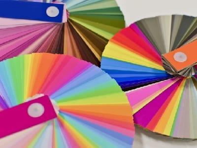 カラーチャートの画像