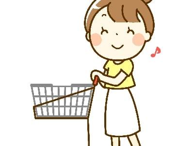 買い物へ行く人