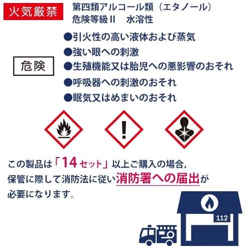 しっかり除菌アルコールスプレー100ml (60本セット)【除菌アルコールスプレー・エチケット・感染症対策】の商品画像6枚目