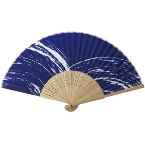 す竹扇子 白浪|A76-2D9754