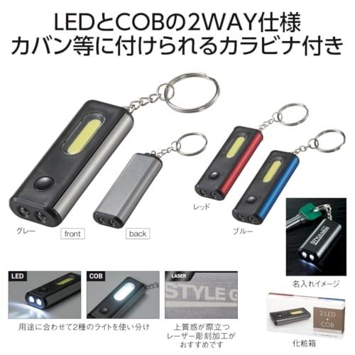 LED&COB 2WAYライト【セミオーダー】