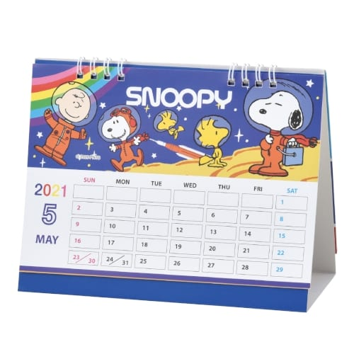 キャラクター卓上カレンダー2021 スヌーピー