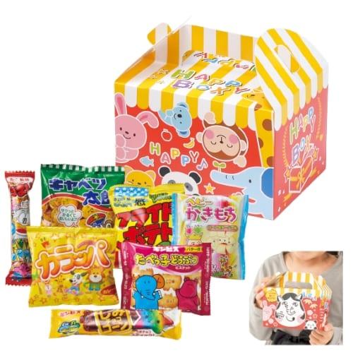 福笑い お菓子BOX7点セット