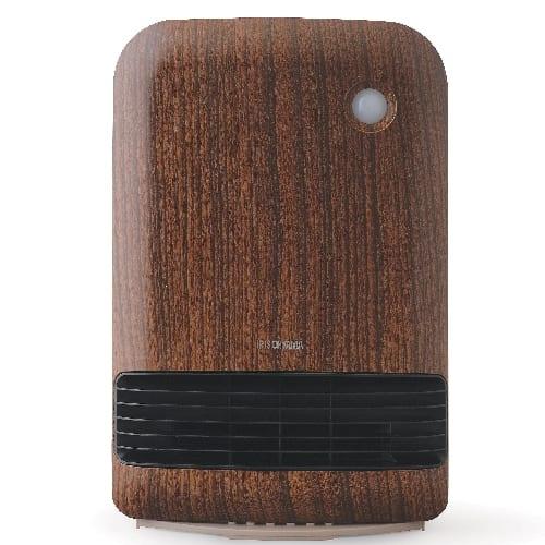 人感センサー付き大風量セラミックファンヒーター 1台(ダークブラウン)の商品画像3枚目