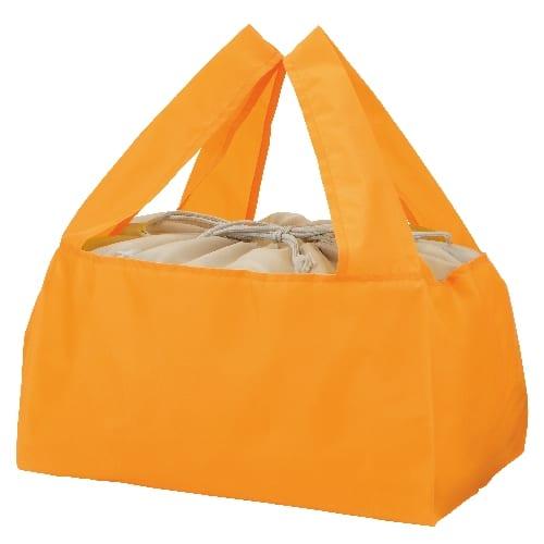 Ecolor 折りたたみ買い物かごバッグ(イエロー)の商品画像4枚目