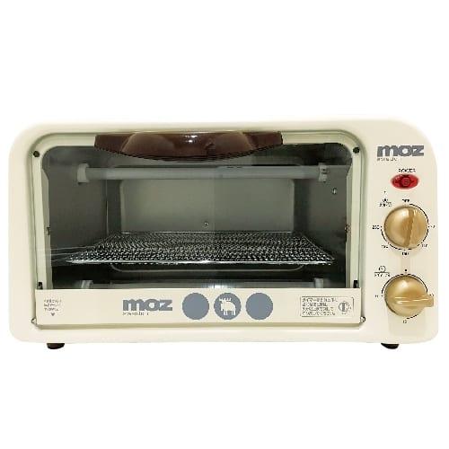 mozオーブントースター ホワイトの商品画像2枚目