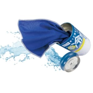 濡らして即冷感!缶入クールタオル|A01-34325