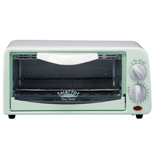 PIATTO オーブントースター グリーンの商品画像2枚目