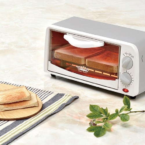 PIATTO オーブントースター ホワイトの商品画像2枚目