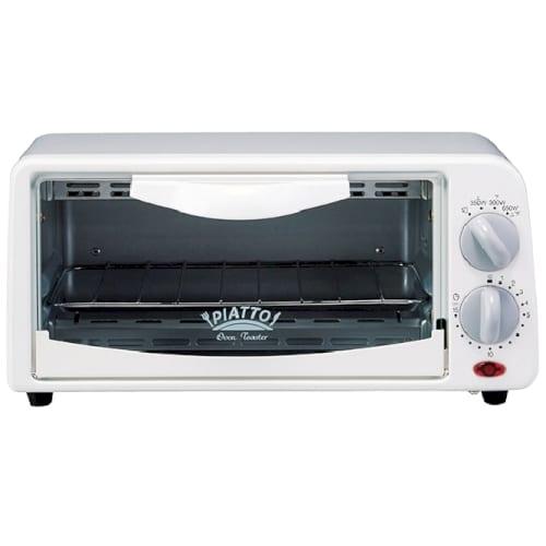 PIATTO オーブントースター ホワイトの商品画像3枚目