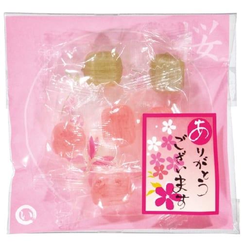 あめいろこづつみ 桜のど飴【お花見・さくら・桜の季節】の商品画像3枚目