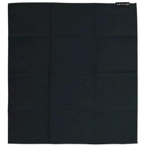 MOTTERUポケスク ハンカチ ヘミング:ブラックの商品画像4枚目
