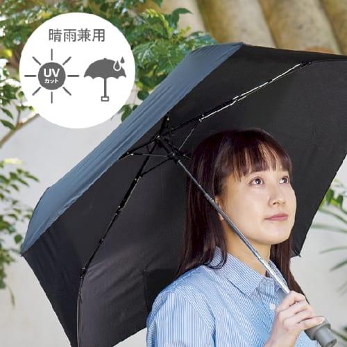 ITSUMOスリムボトル折りたたみ傘:ホワイト【MOTTERUモッテル】の商品画像2枚目