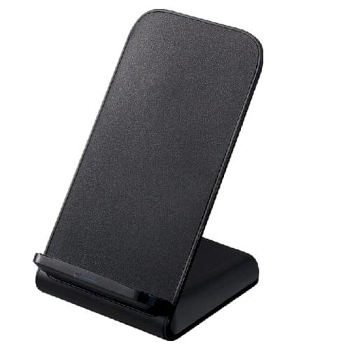 スタンドワイヤレス充電器 5W:ブラックの商品画像4枚目