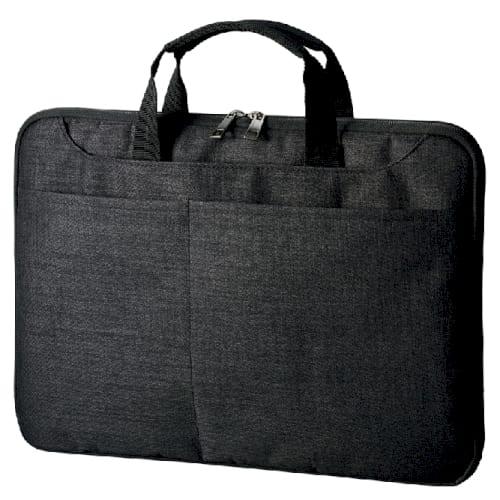 ハンドルがしまえるPCバッグ:ブラックの商品画像4枚目