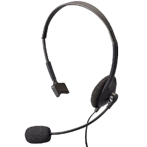 片耳ヘッドセット:ブラック【リモートワーク・在宅勤務】の商品画像4枚目