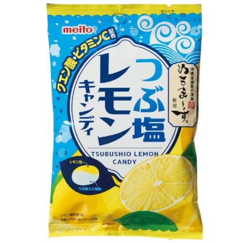 つぶ塩レモンキャンディ70gの商品画像2枚目